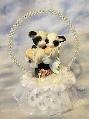 Mary Moo Moos - Wedding Cake Topper