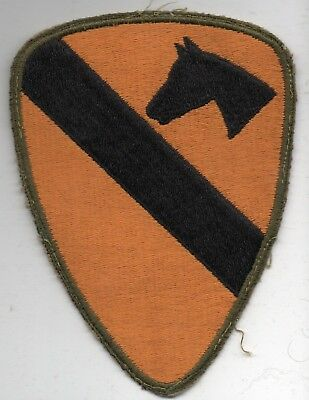 World War II US Army 1st CAVALRY Division Patch