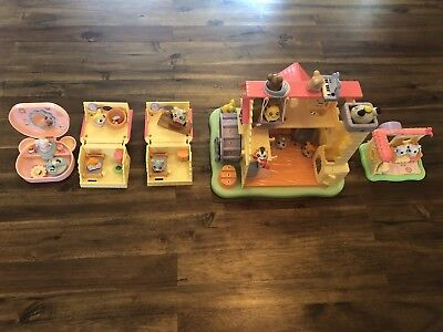 Hamtaro Ham Ham House & Hamster Figures And Accessories. Huge Lot!!