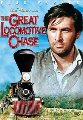 THE GREAT LOCOMOTIVE CHASE New DVD Disney Fess Parker