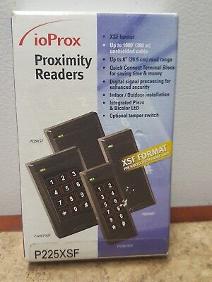 New Kantech P225XSF ioProx Proximity Reader. 1 total