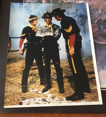 F Troop Agarn Larry Storch  autographed Reprinted 8x10 color  photo