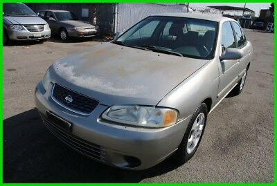 Nissan Sentra GXE 2003 Nissan Sentra GXE 83K Low Miles Automatic 4 Cylinder NO RESERVE