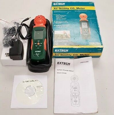 Extech C0240 Air Quality CO2 Meter