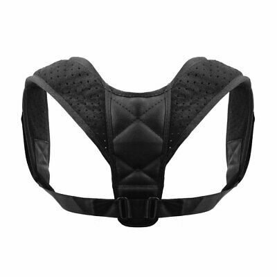Unisex Adjustable Back Posture Corrector Clavicle Belt Shoulder Support Strap