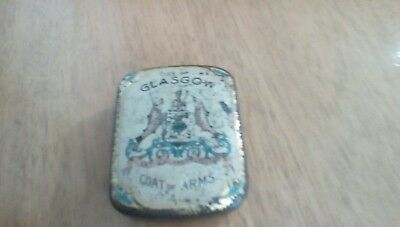 Rowntree box with Glasgow coat of arms