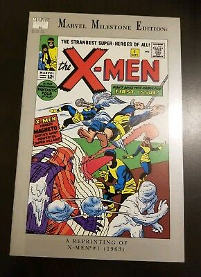 Marvel Milestone Edition X-Men #1 (1991) VF FIRST APP KEY APPEARANCE REPRINT