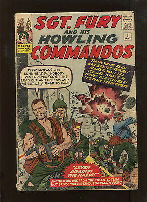 Sgt Fury And His Howling Commandos #1 (1.8) Huge Key