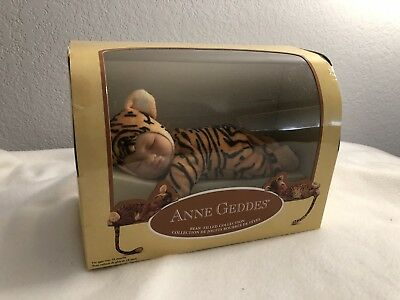 Anne  Geddes Baby Tigers Stuffed Plush Baby Tigers Doll 2006