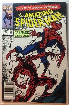 The Amazing Spider-Man #361 Beautiful Copy!!! 1st Carnage
