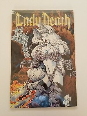 """Lady Death Collectible Comic """"The Odyssey"""" Pt 2 of 4 """"Enslaved"""""""