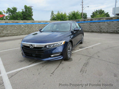 Honda Accord Hybrid EX-L Sedan EX-L Sedan New 4 dr CVT 2.0L 4 Cyl Obsidian Blue Pearl