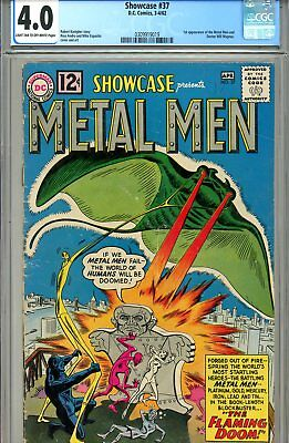 Showcase #37 CGC GRADED 4.0- first appearance of Metal Men