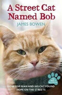 NEW A Street Cat Named Bob By James Bowen Paperback Free Shipping