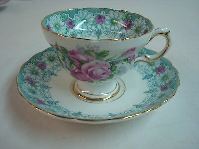 Beautiful Vintage Cup and Saucer, Rosina China, England