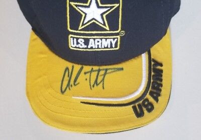 Colin Powell Autographed Signed US Army Hat