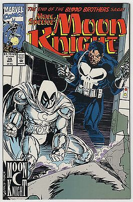 Marc Spectre: Moon Knight #38 May 1992 NM+ 9.6 Marvel Comics Punisher