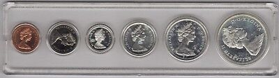 1965 Canadian Proof-set in Whitman holder