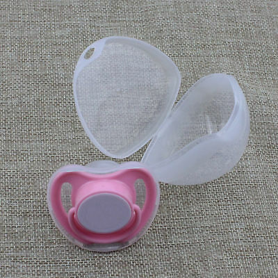 Portable Girl Boy Infant Baby Nipple Box Pacifier Cradle Case Holder Soother Box