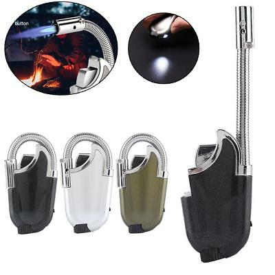Refillable Butane Lighter Cigar Cigarette Jet Flame Torch for Outdoor BBQ Grill