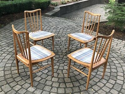1960's Vintage Four Dining Chairs