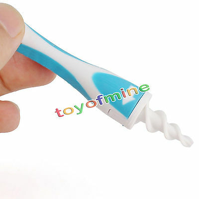 Swab Earwax Remover Removal Soft Safe Spiral Cleaner Ear Pick Easy Tools Sets