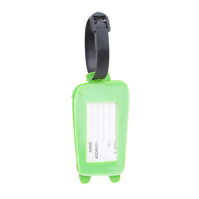 Soft Plastic Luggage Travel Card Custom Pvc Luggage Tag Luggage Pattern Tag OE