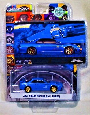 "2018 GreenLight ""Hobby Exclusive"" 2001 Nissan Skyline GT-R (BNR34), Ships W.W."