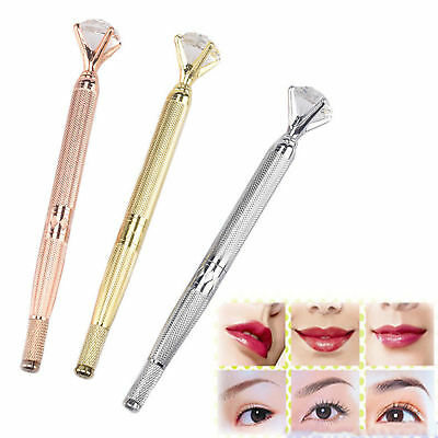 Microblading Crystal diamond Eyebrow Pen Holder Microblade Embroidery Tattoo Pen