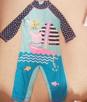 Girls Swimming Costume 34 Next And Peppa Pig Eur 248 Picclick Fr