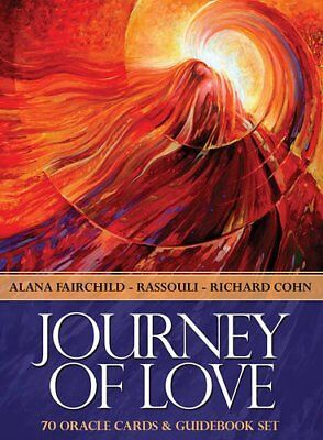 Journey Of Love Oracle: 70 cards & 164-page guidebook by Illustrated by Rassouli