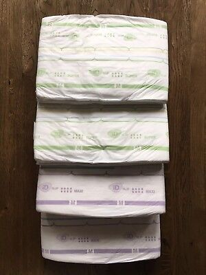 4xRARE ID Medium (2xSuperPE & 2xMaxi)-ABDL-Adult Nappies/Diapers (plastic pants)