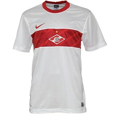 Bnwt Official Authentic Nike Spartak Moscow Fc Away Shirt 2011-12 Size Small