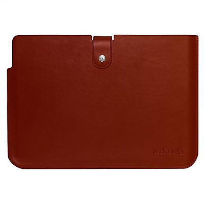 "TECHAIR TAUBSL002 13"" 13.3"" Ultrabook™ Macbook Laptop Leather Sleeve Case Brown"