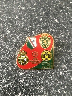 Pin Champions League 2016-2017 Borussia Dortmund Real Madrid rot-grunn