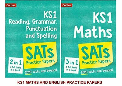 Ks1 Maths & English Full Practice Papers Upto Date For 2020 Tests & Beyond