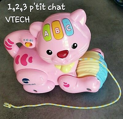 1,2,3 p'tit chat rose vtech
