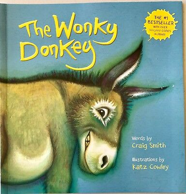 The Wonky Donkey by Craig Smith paperback book Free Shipping! Brand NEW
