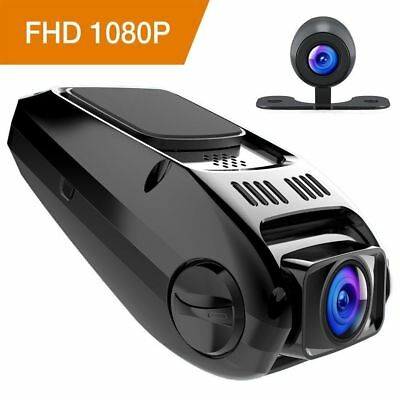 APEMAN C550 Dash Camera Recorder Dual Dash-Car Cam LCD FHD 1080p 170 Wide Angle