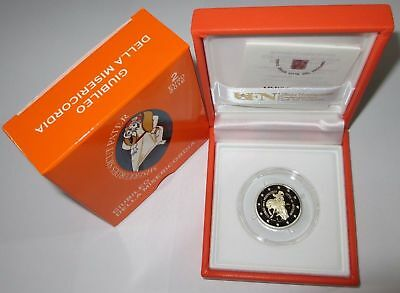 Vatican 2 euro coin 2016 Holy Year of Mercy PROOF coin in box, COA