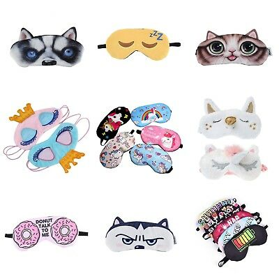 Children's Kids Boys Girls Teen Eye mask sleep masks Blindfold Sleeping animal