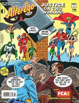 TwoMorrows Alter Ego Magazine 93 Earth-2 JSA Justice Society of America UNREAD