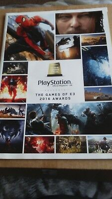 playstation official magazine - the games of E3 2016 awards