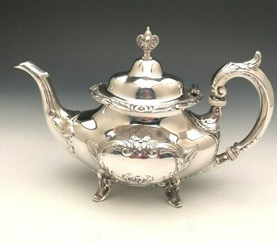 Burgundy by Reed & Barton Tea Pot, Sterling Silver
