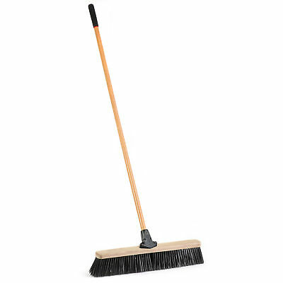 "Laitner Brush Company 1435A 24"" Rough Surface Push Broom"