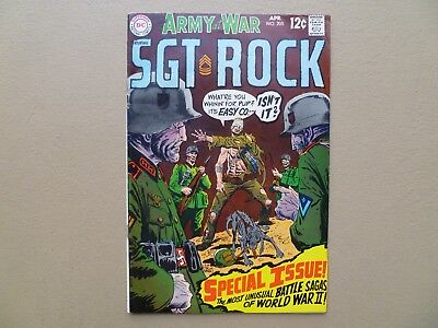 Our Army at War # 205  Sgt Rock 12 cent Easy Company Joe Kubert  DC 1969