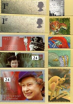 Gb Various Mint Phq Cards X20 From Collection Bx2/7
