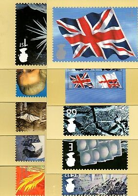 Gb Various Mint Phq Cards X20 From Collection Bx2/6