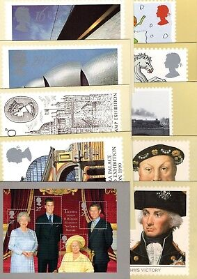 Gb Various Mint Phq Cards X20 From Collection Bx3/4