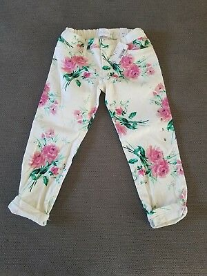 Toddler Girls~Children's Place Pants~Size 5~Floral~NWT